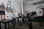 Strongman a powerlifter Jiří Tkadlčík v Přerově slavnostně otevřel Chrám síly