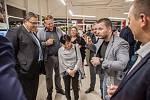 Kouzelník Michal Zapletal. Otevření autosalonu Toyota v Ostravě.