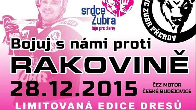 Srdce Zubrů bije pro ženy - pozvánka na akci 28. prosince