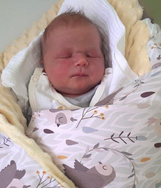 Marek Stromšík, Lipová, narozen 24. června 2020 v Přerově míra 51 cm, váha 4040 g