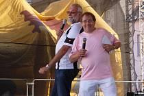 Akuna show na náměstí TGM