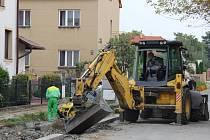 Stavební úpravy v Durychově ulici v Přerově