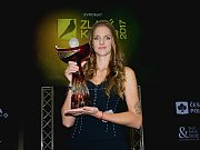 Karolína Plíšková dle očekávání ve čtvrtek 14. prosince v Přerově ovládla prestižní anketu časopisu Tenis a Českého tenisového svazu Zlatý kanár za rok 2017.