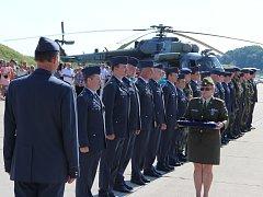 Rozloučení s činností 23. základny vrtulníkového letectva v Přerově