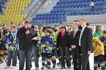 Hokejovou akademií oslavila Základní škola Želatovská v Přerově své 55. výročí