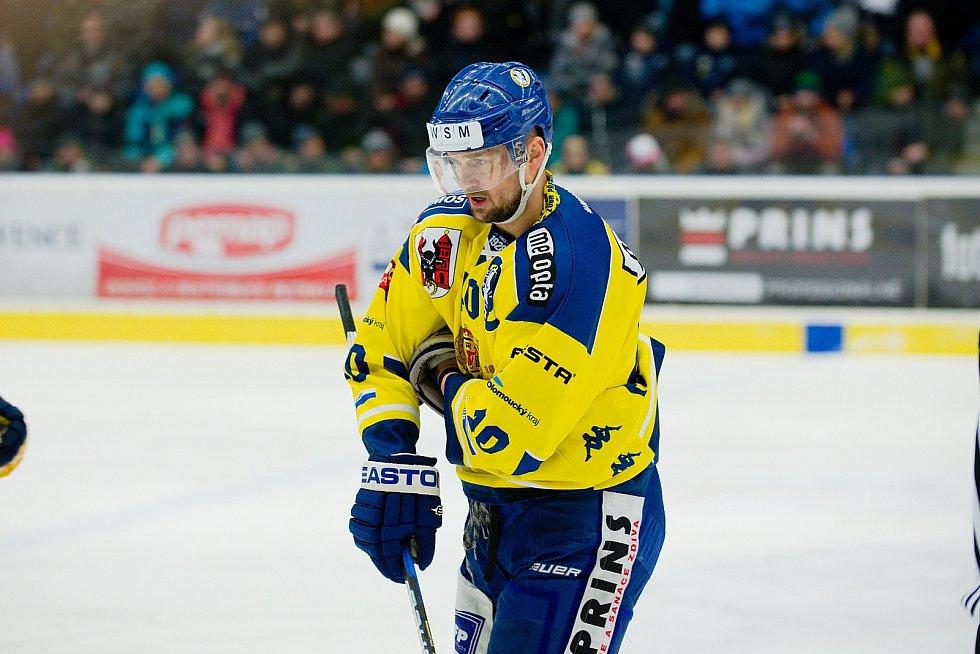 Hokejisté Přerova proti Kladnu. Nastoupil i Jaromír Jágr.