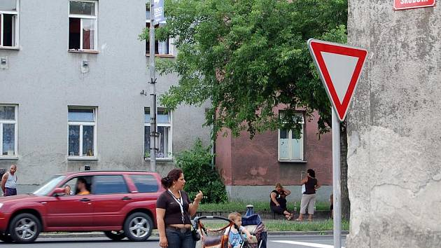 Škodova a Husova ulice