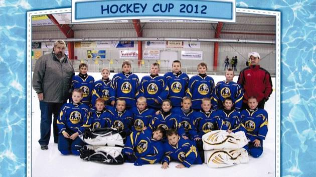 Hráči HC ZUBR Přerov ročníku narození 2002 a mladší se stali v Brně vítězi mezinárodního turnaje
