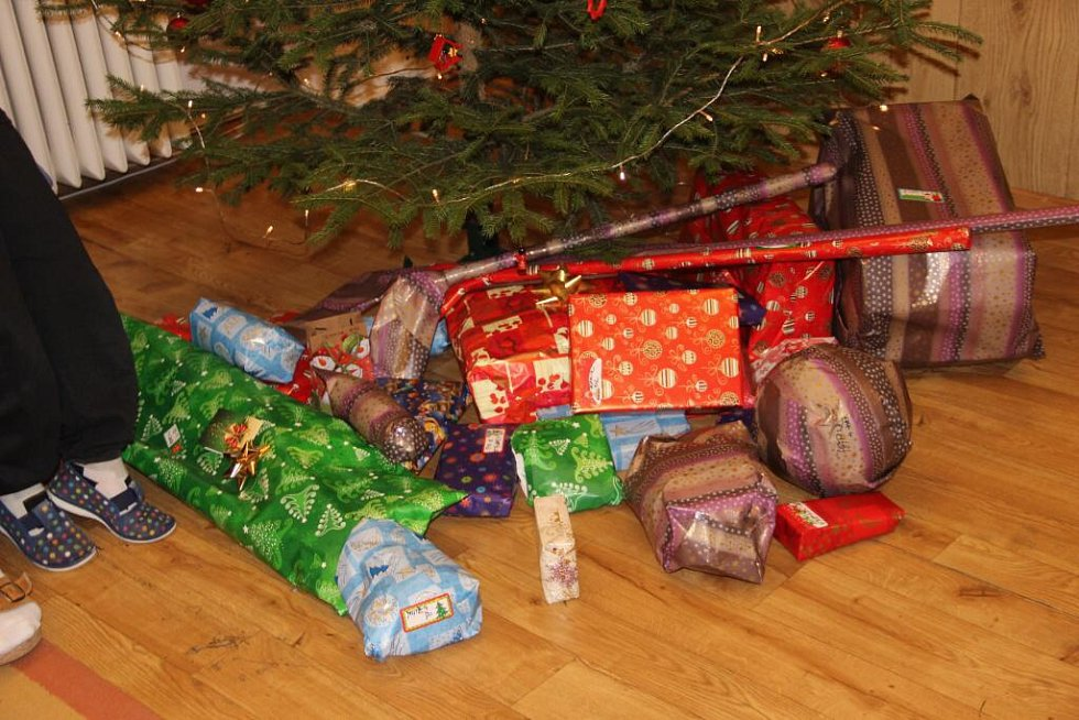 Děti z přerovského dětského domova si v úterý užily tu pravou vánoční nadílku. Dárky jim věnovali Přerované, kteří jim zakoupili vytoužené přání pod stromečkem v Galerii Přerov.