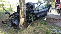 Tragická nehoda u Dětkovic na Prostějovsku