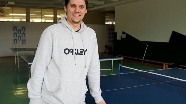 Michal Pospíšil. pedagog ze ZŠ U Tenisu v Přerově