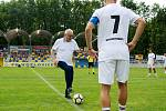 Druhý ročník benefiční akce Sportovcům na dětech záleží v Kozlovicích u Přerova
