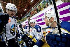 Hokejisté HC Zubr Přerov proti Kladnu (4:3).