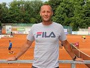 Tenistový trenér Tomáš Krupa.