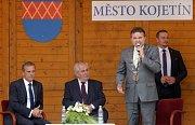 Prezident Miloš Zeman na návštěvě Kojetína