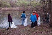 Děti v přerovské Laguně uklidily téměř 3 tuny odpadků