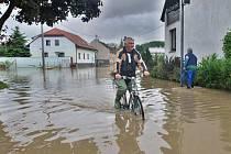 Zaplavené Troubky 19. května 2010