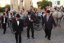 V dobovém duchu zahájilo Muzeum Komenského v Přerově výstavu věnovanou Tyršovu mostu