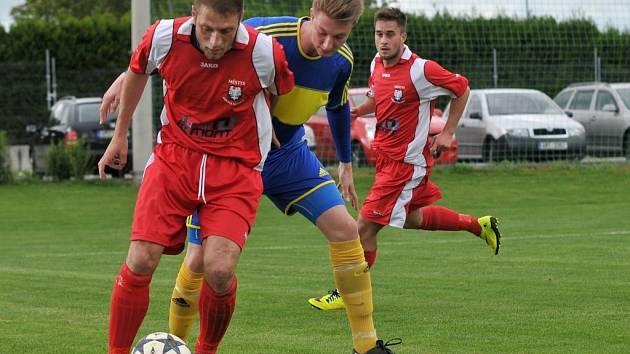 FC Želatovice (v modrém) vs. FC Kralice na Hané
