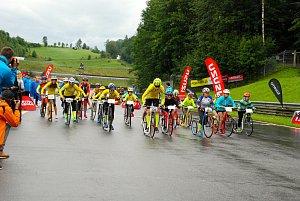 Mladí závodníci 1. Klubu koloběhu Lipník nad Bečvou