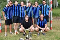 Vítěz turnaje v malé kopané v Hradčanech – celek Internazionale