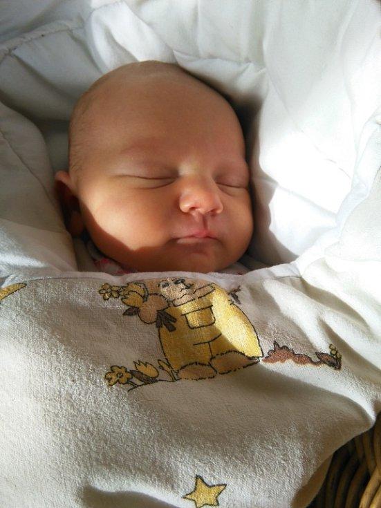 Naďa Dostalíková, Přerov, narozena dne 21. září v Přerově, míra: 48 cm, váha: 3240 g