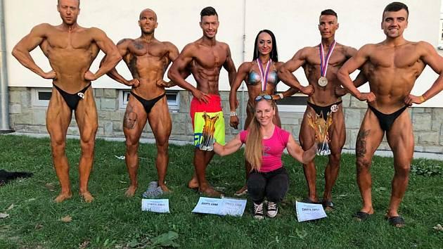 Úspěšná výprava přerovského Fitness Ave na mistrovství Moravy a Slezska 2018.