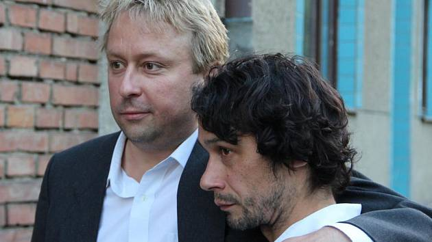 Marek Daniel a Pavel Liška. Komediograf v hospůdce U Olinka