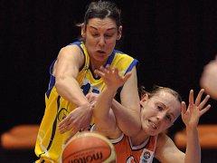 Sandra Le Dréanová, basketbalistka USK.