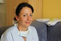 Lékařka Michaela Tomaščiková z ARO Nemocnice Přerov
