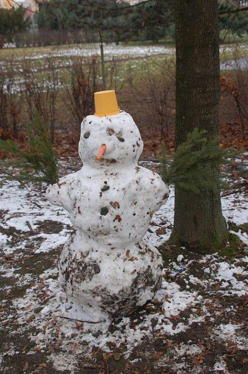 Sníh v Přerově