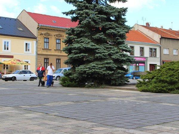 Náměstí vKojetíně. Ilustrační foto