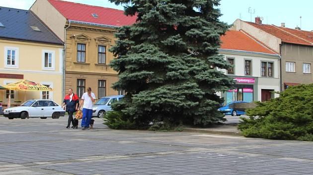 Náměstí v Kojetíně. Ilustrační foto