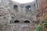 Opravy středověkého opevnění města Lipník nad Bečvou