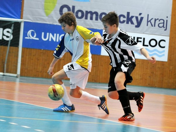 VPřerově se na halovém turnaji utkaly kvalitní mládežnické celky zMoravy či ze Slovenska.