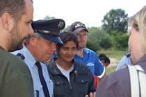 Informační kampaň seznamující Romy s připravovaným pochodem radikálů