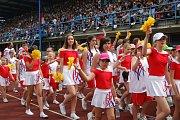 Přerov se stal v sobotu dějištěm krajského sokolského sletu, na který zavítalo na třináct set 1700 cvičenců.
