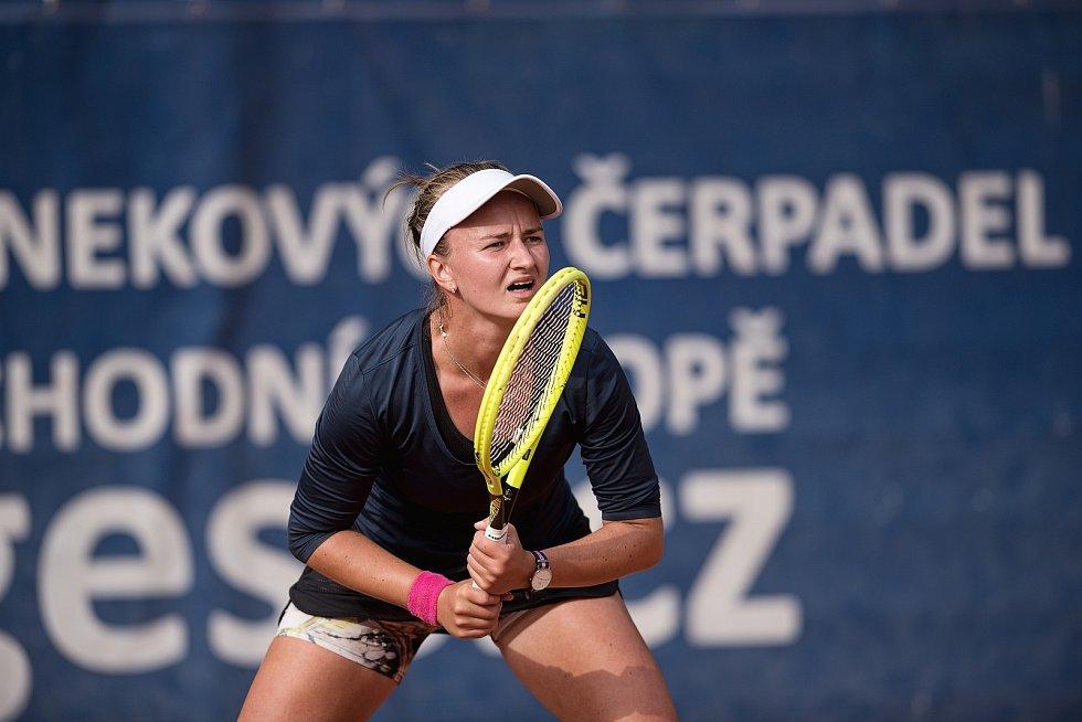 Tenisový Zubr Cup 2020 v Přerově. Barbora Krejčíková