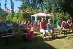 Zahradní slavnost v Ornisu