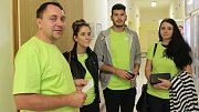 Redaktoři Přerovského a hranického deníku darovali krev