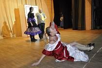 Přerovské amatérské divadlo Dostavník - zkouška Maškarády od Terryho Pratchetta