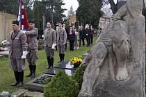 Přerov si připomněl sté výročí úmrtí Slavomíra Kratochvila