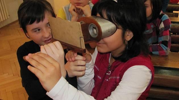 Žáci ze Základní školy Želatovská v přerovském muzeu na animačním programu