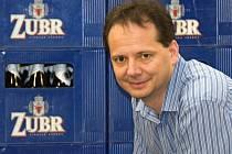 Tomáš Pluháček - ředitel pivovaru Zubr Přerov