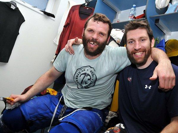Tomáš Vlček slaví zubří postup do první ligy