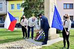 Vzpomínková akce k 75.výročí ukončení druhé světové války v Brodku u Přerova