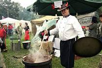 MČR ve vaření kotlíkových gulášů na přerovském výstavišti. Ilustrační foto