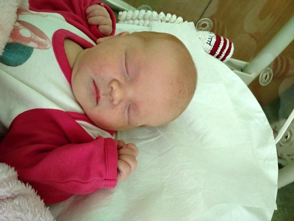 Michaela Balášová , HorníMoštěnice, narozena 19. srpna 2019 v Přerově, míra 50 cm, váha 3800 g