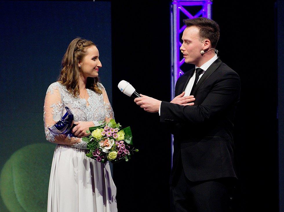 Již 25. ročník předávání cen nejlepším tenistům a tenistkám se poosmnácté uskutečnil v Přerově. Markéta Vondroušová a Petr Suchoň.
