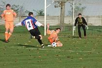 Fotbalisté Ústí v akci